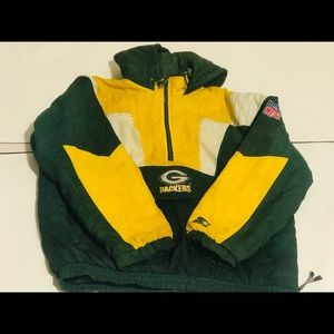 Vintage Starter Packers puff jacket